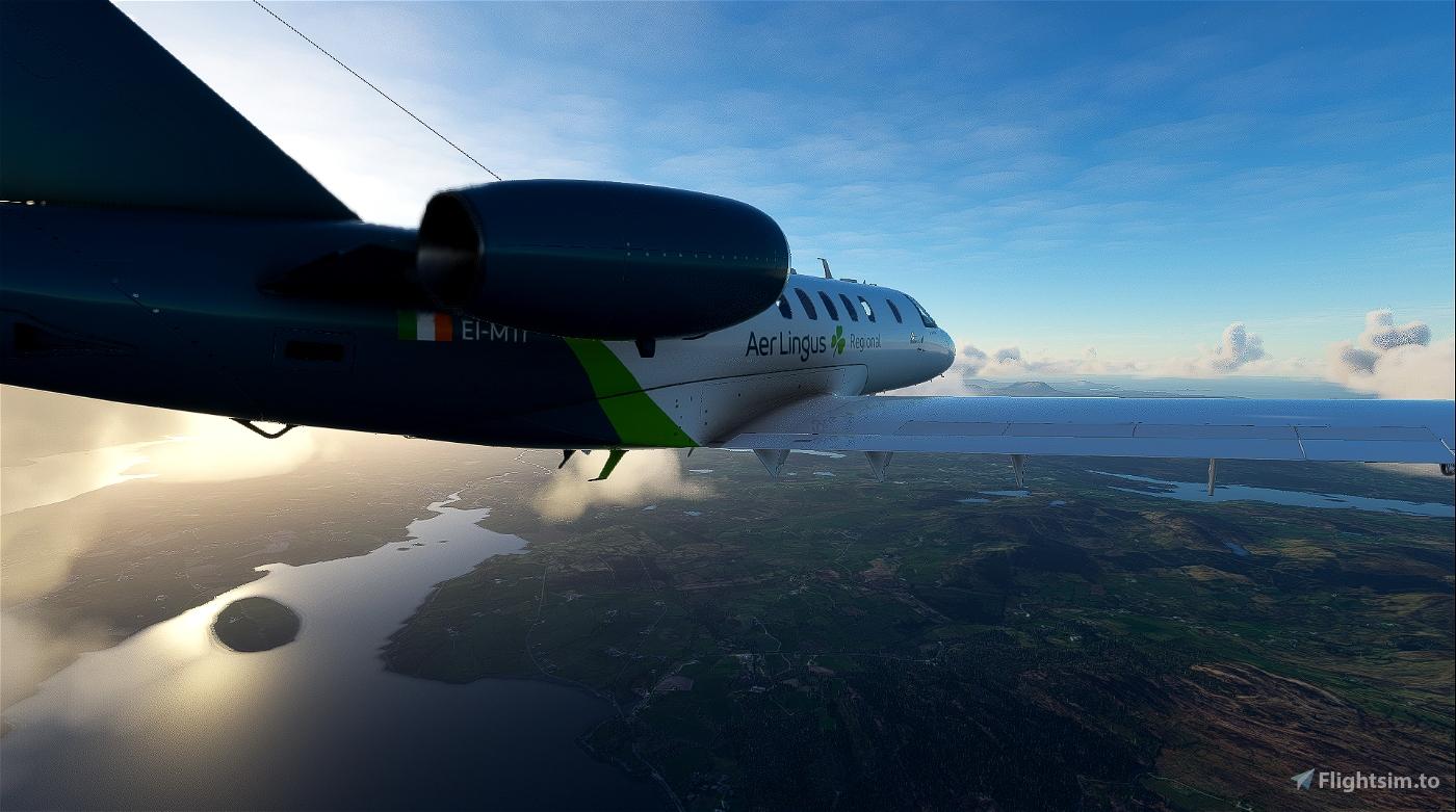 Citation CJ4 Aer Lingus (with custom Interior) UPDATED