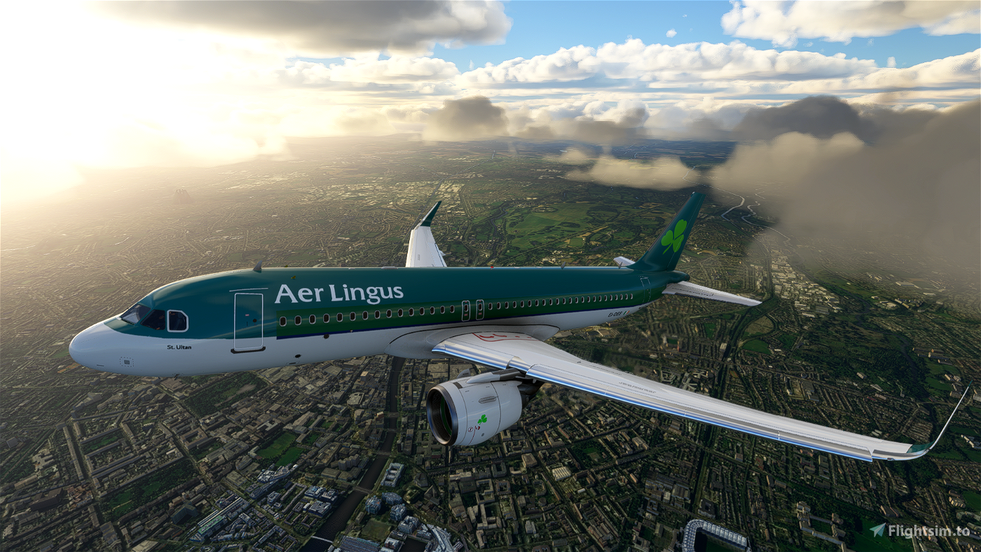 Aer Lingus A320 Neo Classic Livery [4k]