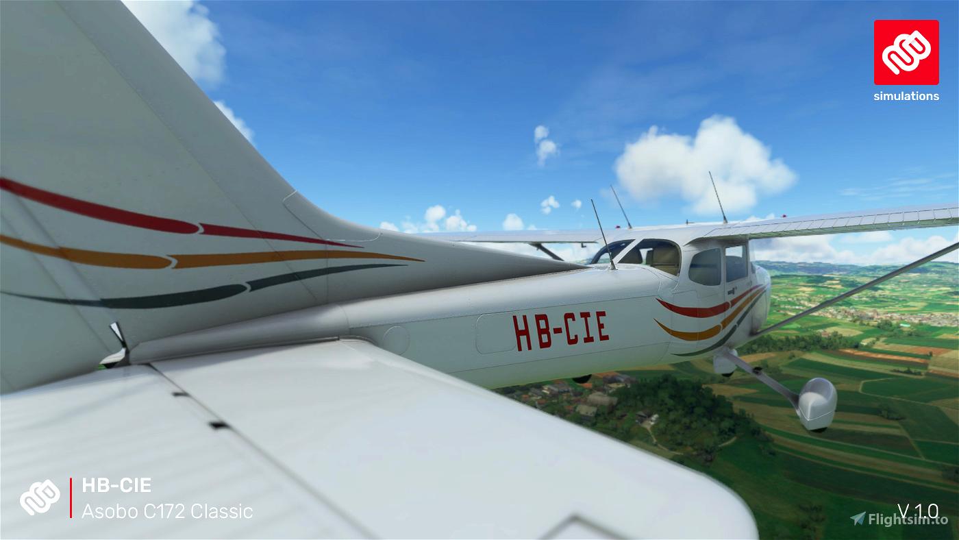Asobo C172 (Classic) HB-CIE Motorfluggruppe Thun