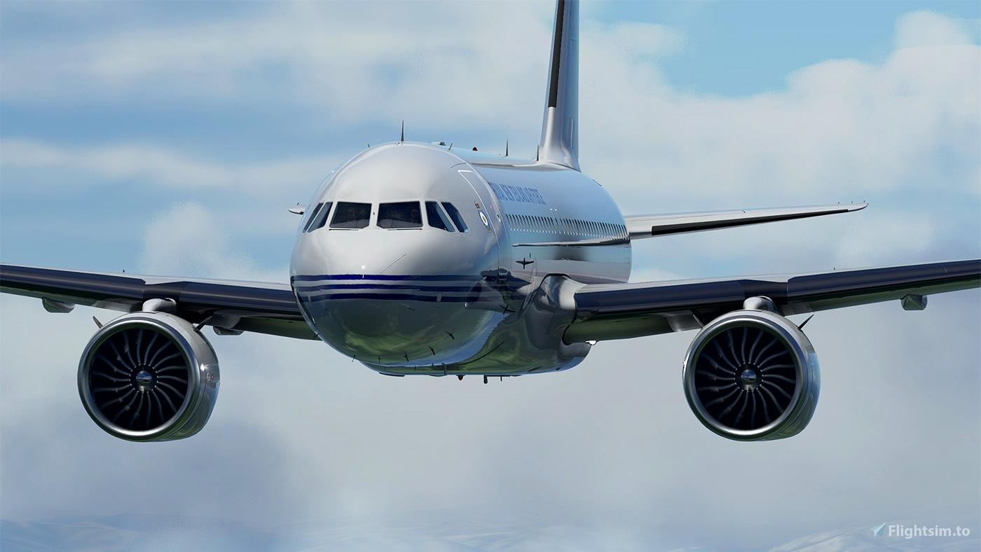 [A32NX] FlyByWire A320neo RNZAF NZ7571 - fictional