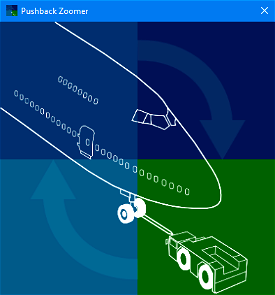 PushbackZoomer - Pushbacks controlled by voice only Image Flight Simulator 2020