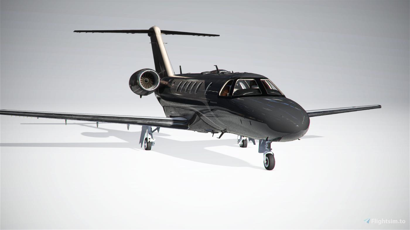 Citation CJ4 Dark Premium Flight Simulator 2020