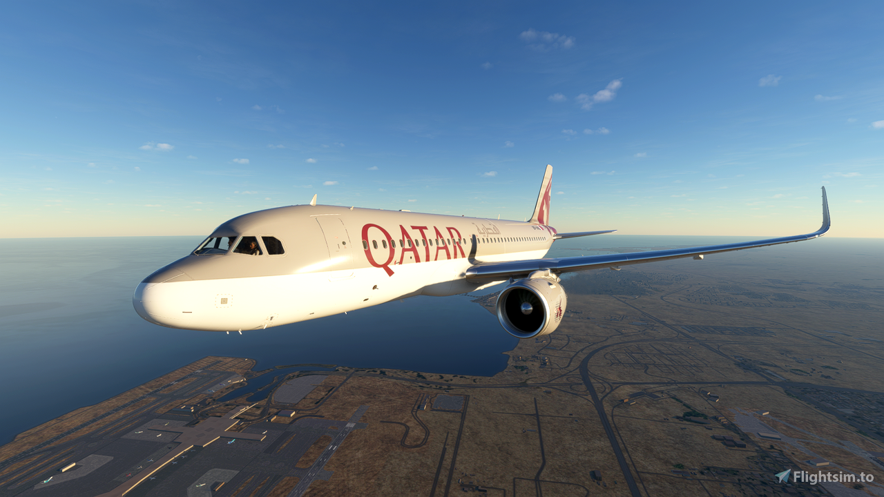 Qatar Airways A320 Neo