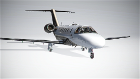 Citation CJ4 White Premium Image Flight Simulator 2020