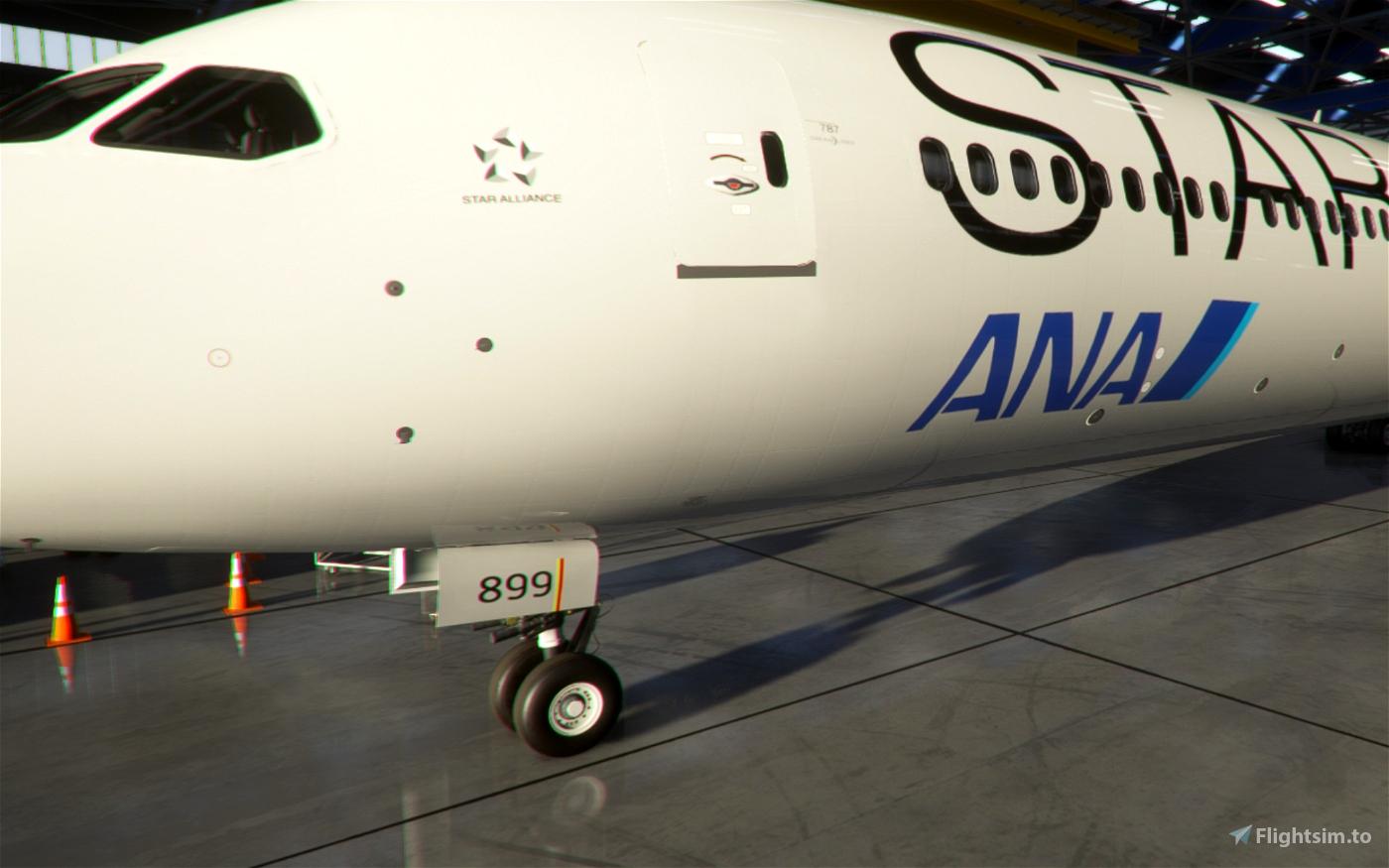 ANA (Star Alliance) 787-10 [4K]