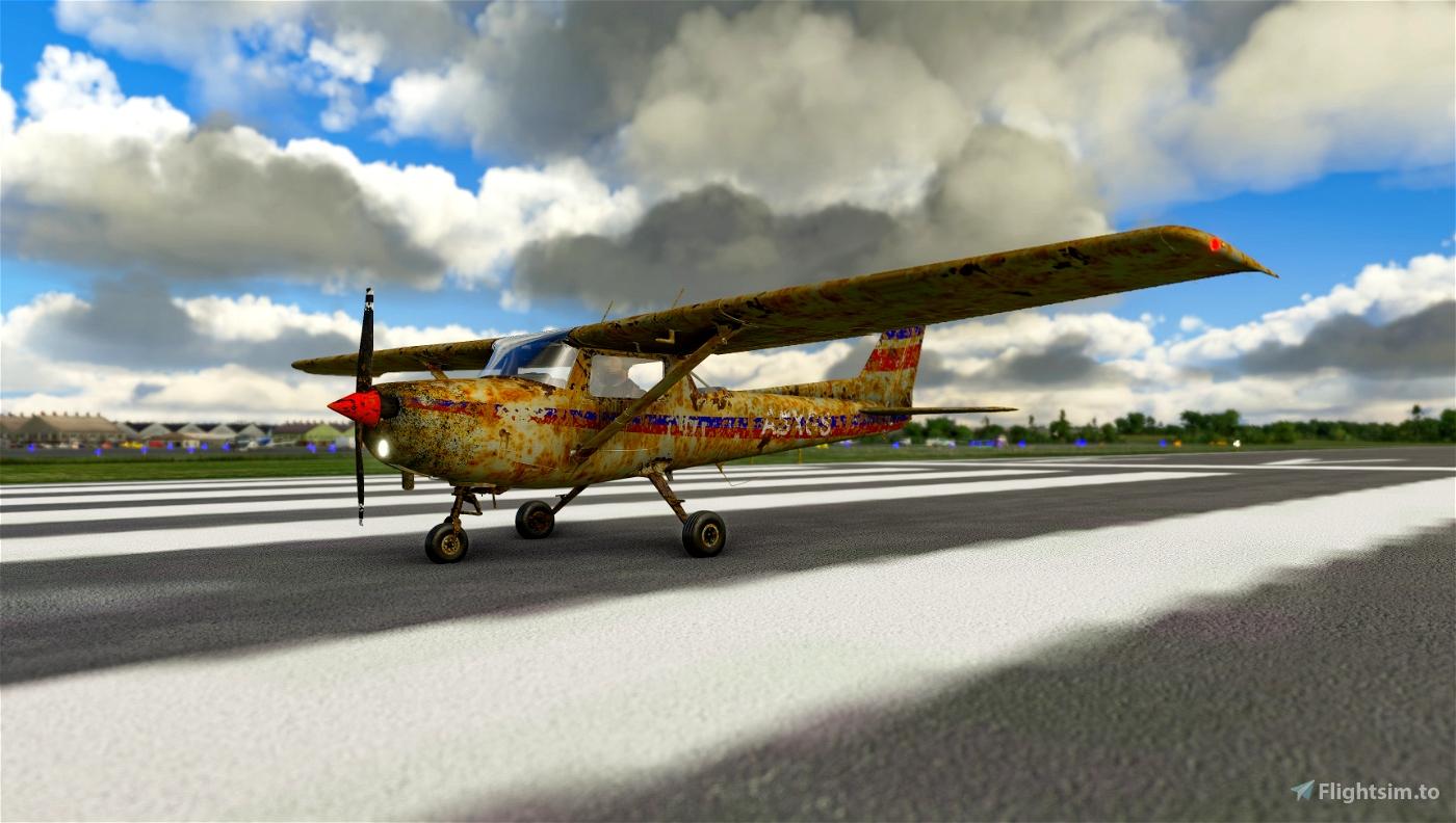 Rusty Mess Microsoft Flight Simulator