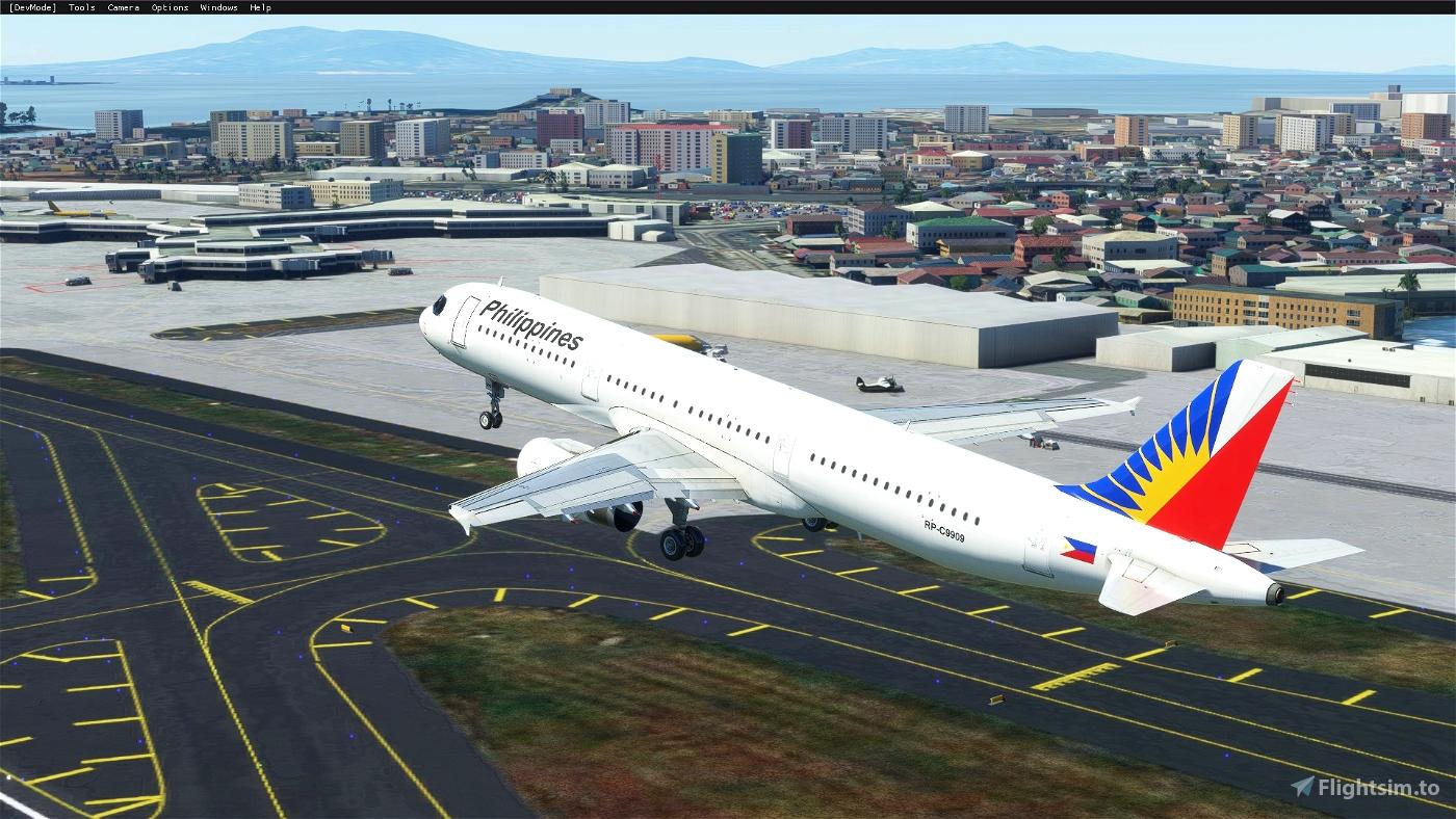 AMP A321 Philippine Airlines (8K) Flight Simulator 2020