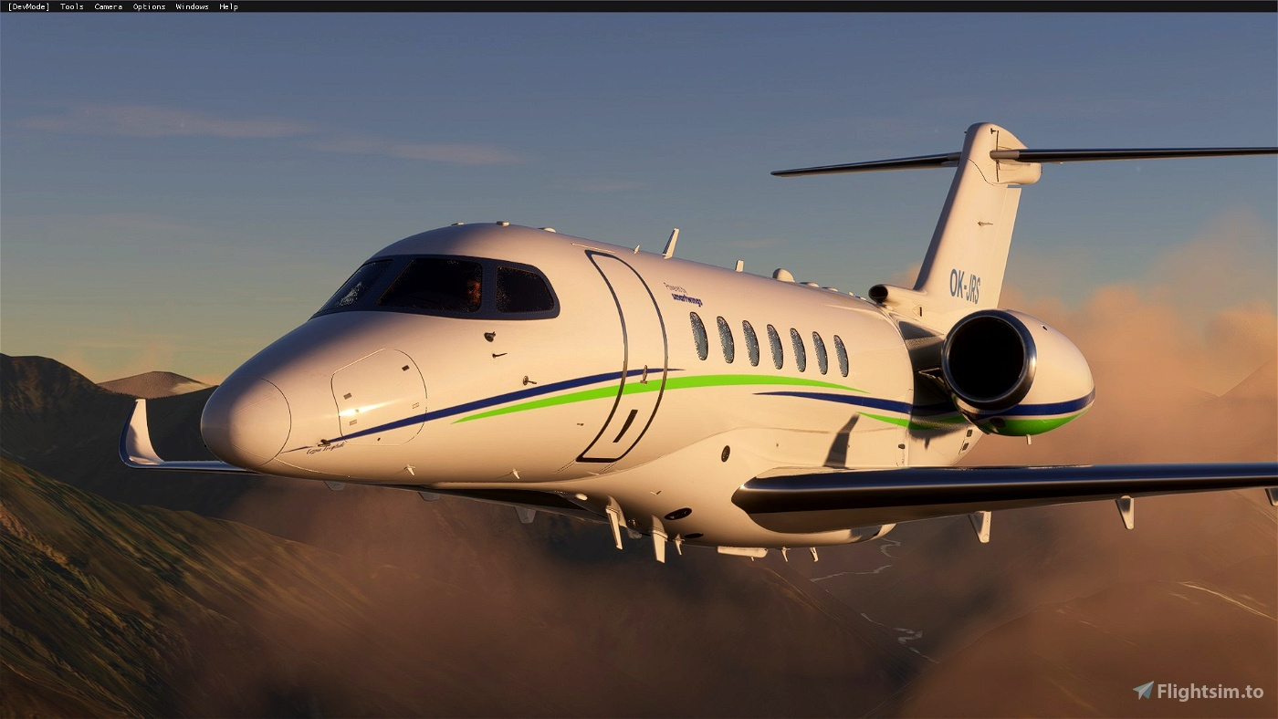 Cessna Citation Longitude Smartwings OK-JRS (Czech)