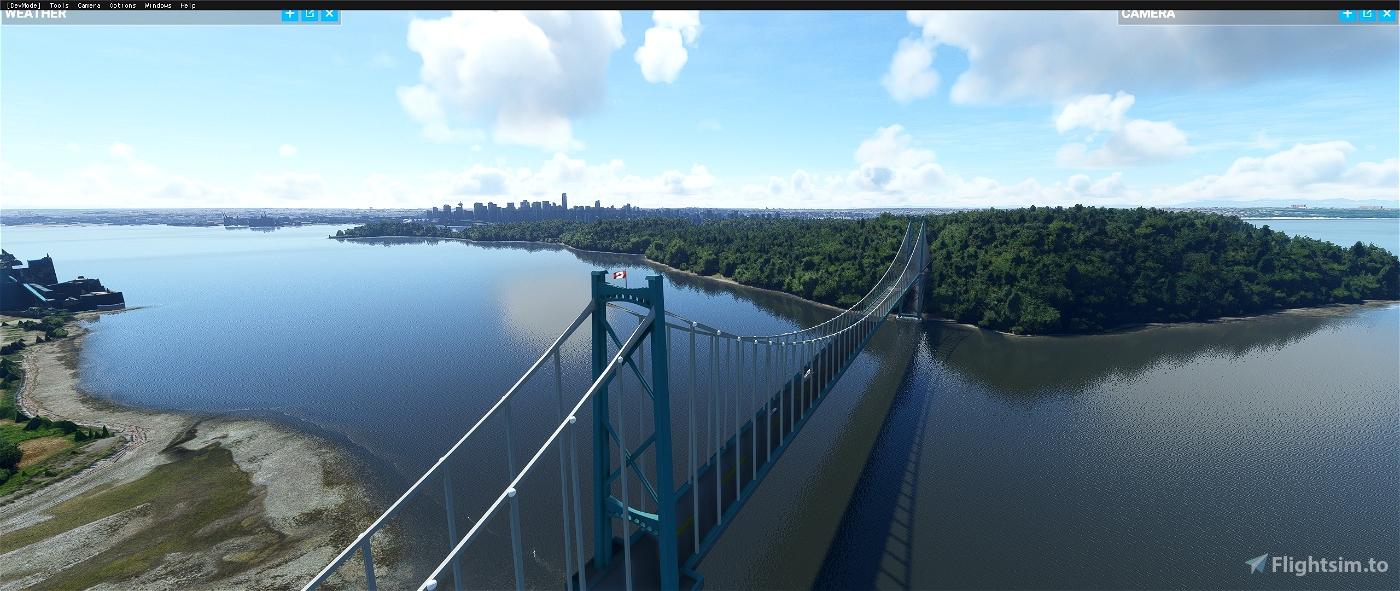 Vancouver Bridges, Vancouver BC Canada V1.3 Flight Simulator 2020