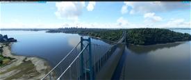 Vancouver Bridges, Vancouver BC Canada V1.3 Image Flight Simulator 2020