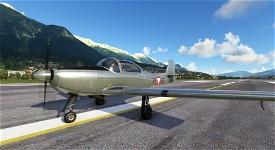 Piaggio P.149 Austrian Air Force 3E-AB Image Flight Simulator 2020
