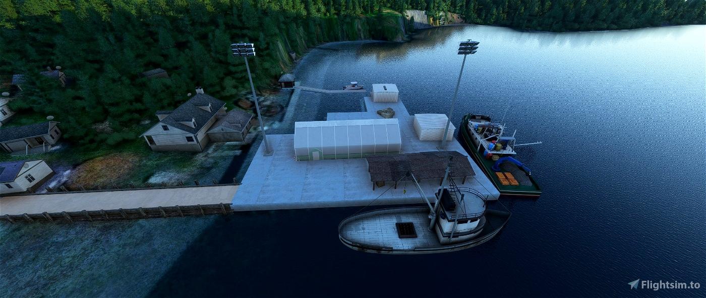 Zachar Bay Lodge/Seaplane Base. Kodiak Island, Alaska
