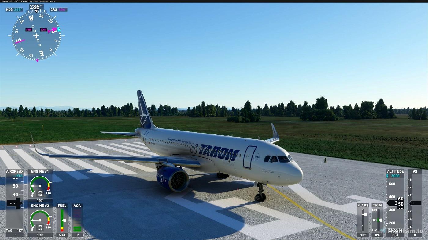 A320neo TAROM 8K normal+raccoon