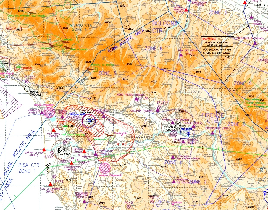 Italian VFR waypoints for PlanG - LittleNavMap Flight Simulator 2020