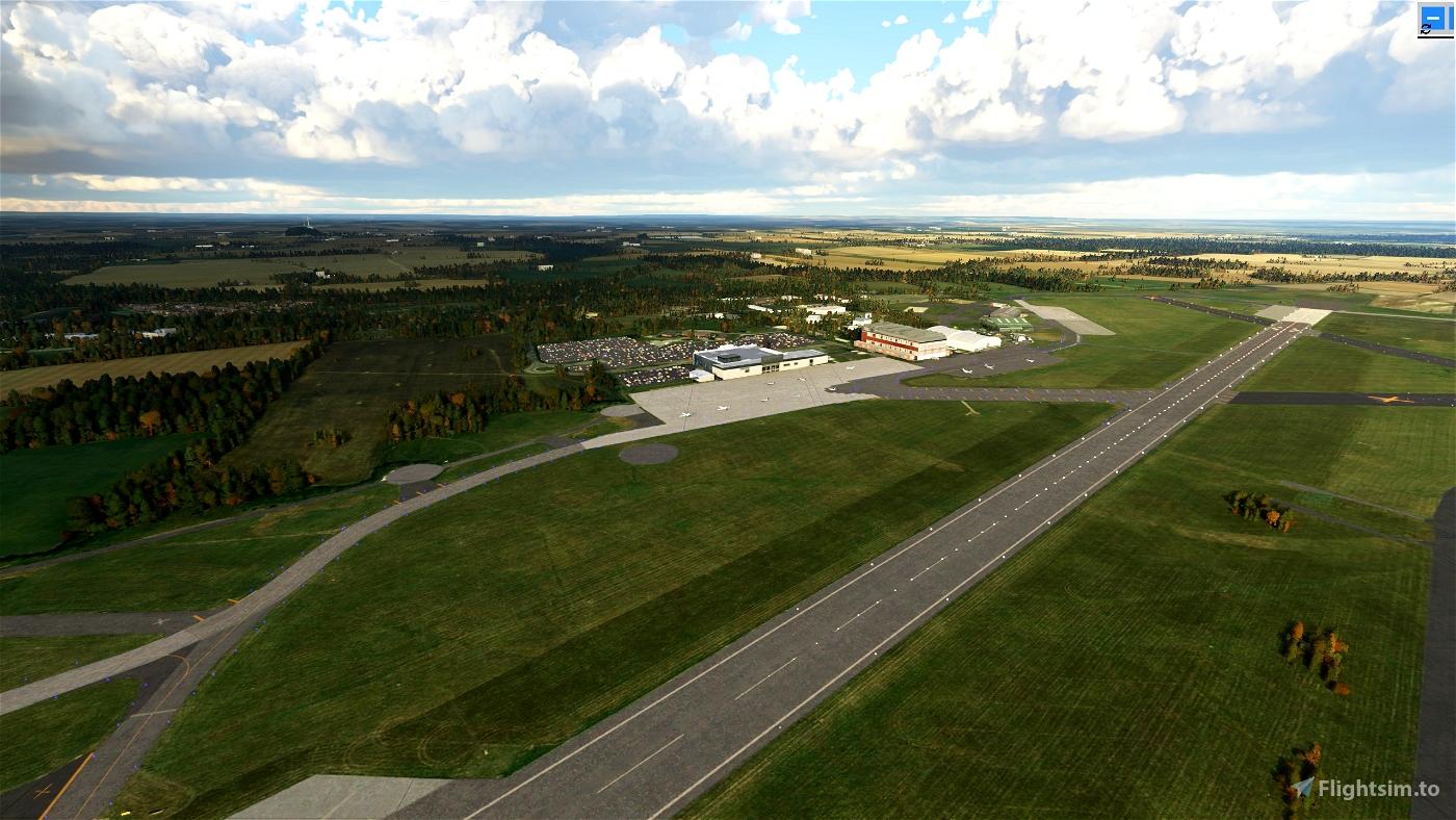 EGNV Teesside International Airport Flight Simulator 2020