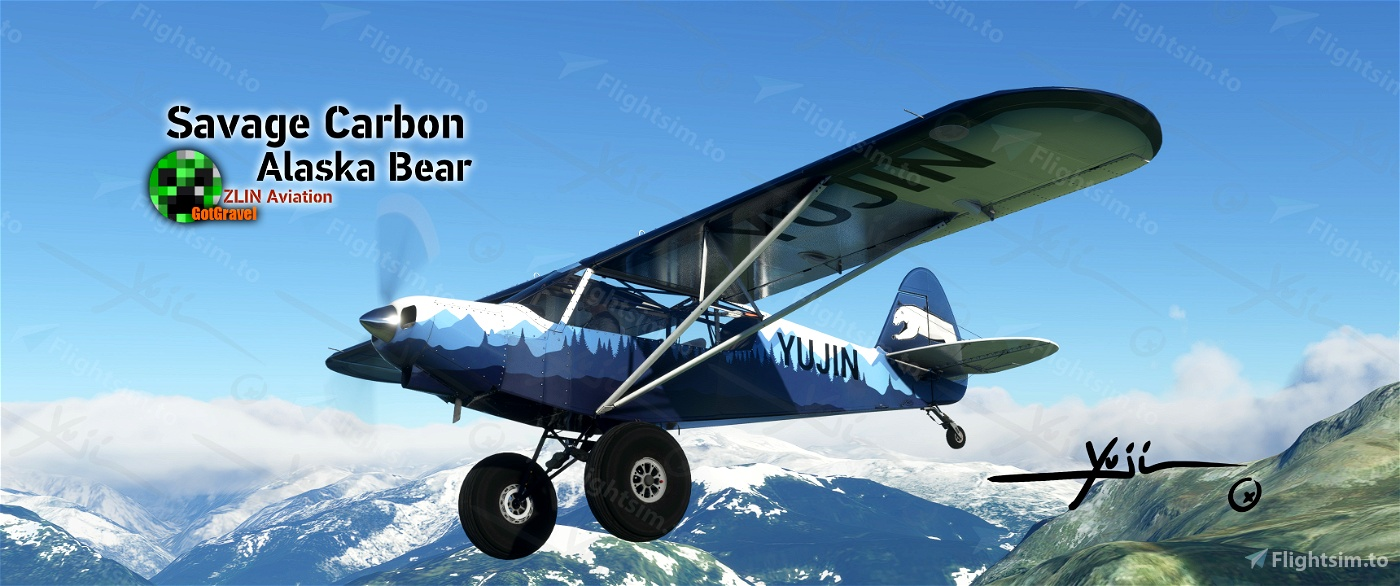 Savage Carbon - Alaska Bear Flight Simulator 2020