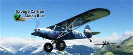Savage Carbon - Alaska Bear Image Flight Simulator 2020