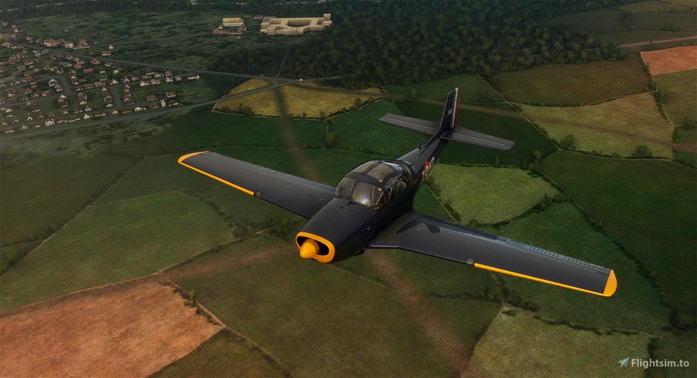 Piaggio P.149 F-AZKD Flight Simulator 2020