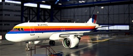 United Airlines Rainbow Livery | Airbus A320neo Image Flight Simulator 2020
