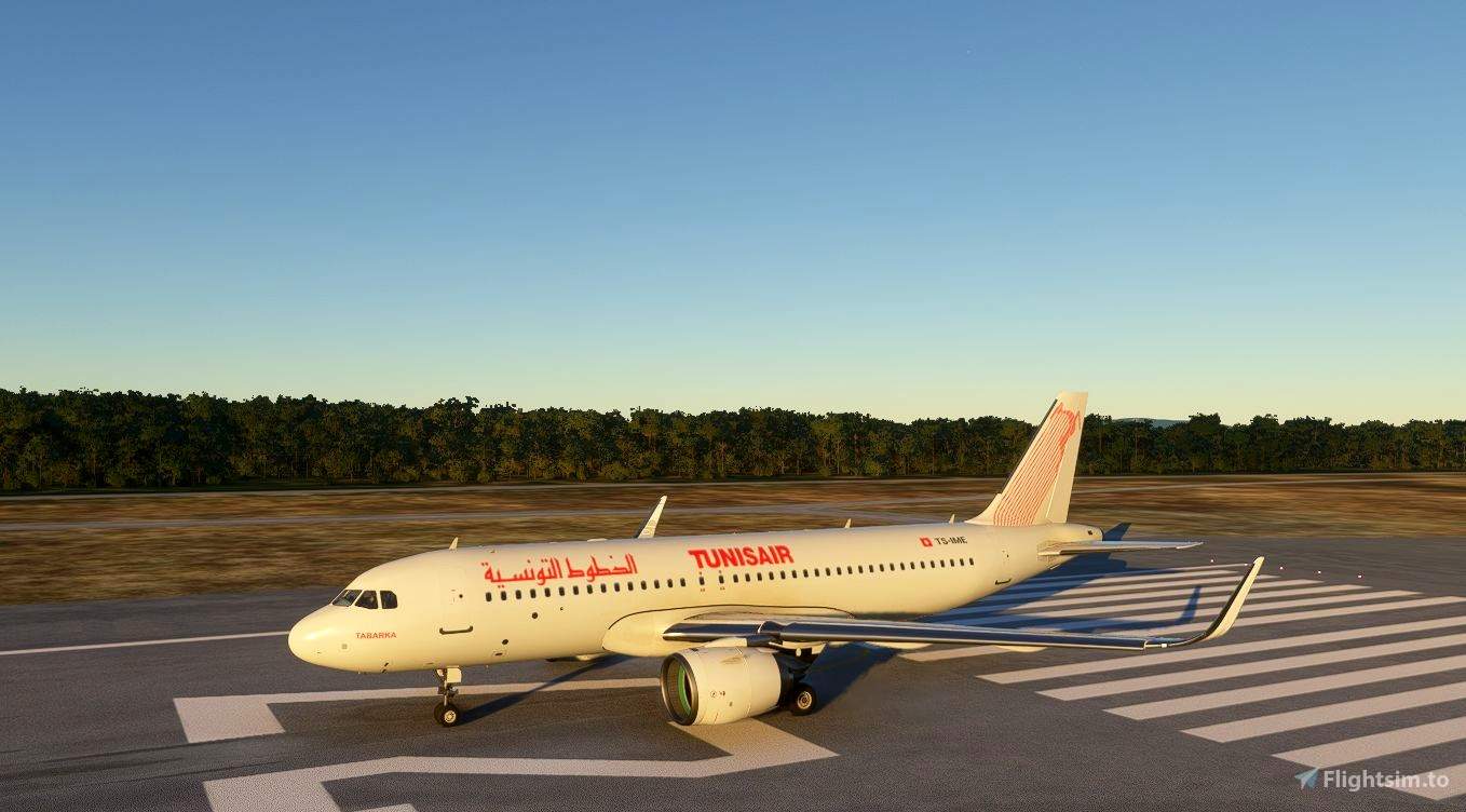 Airbus A320neo Tunisair