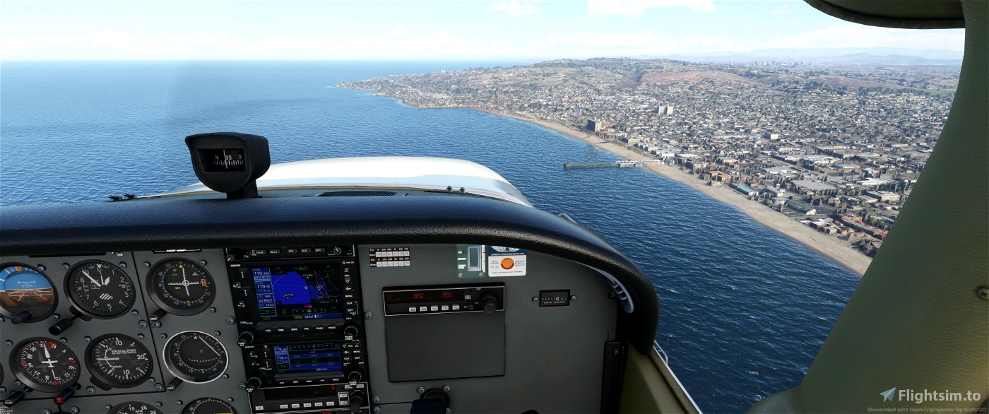 VFR Transitions at San Diego