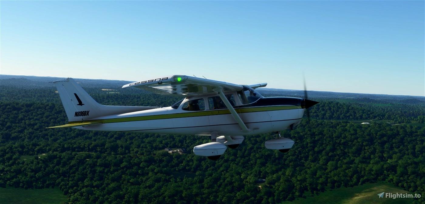 C172 Classic -N806DX Flight Simulator 2020