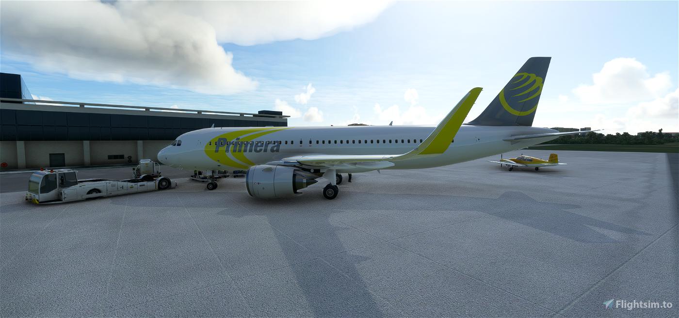 Primera Flight Simulator 2020