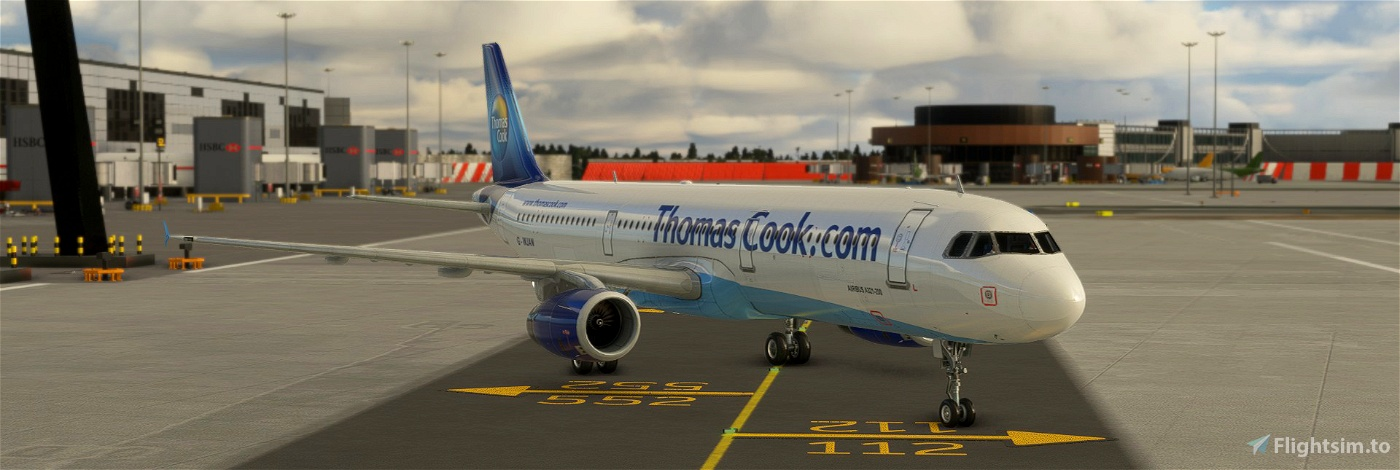 Thomas Cook Old A321-200 [8k] Flight Simulator 2020