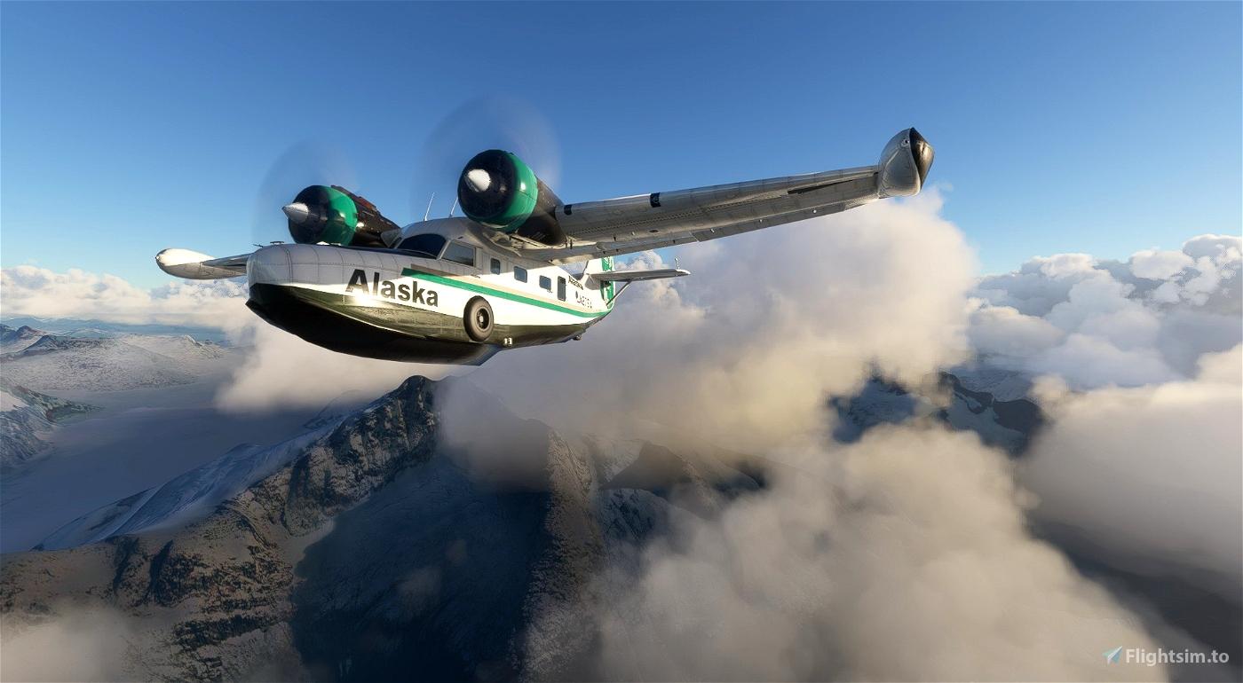 Grumman Goose N2751A Alaska Airlines
