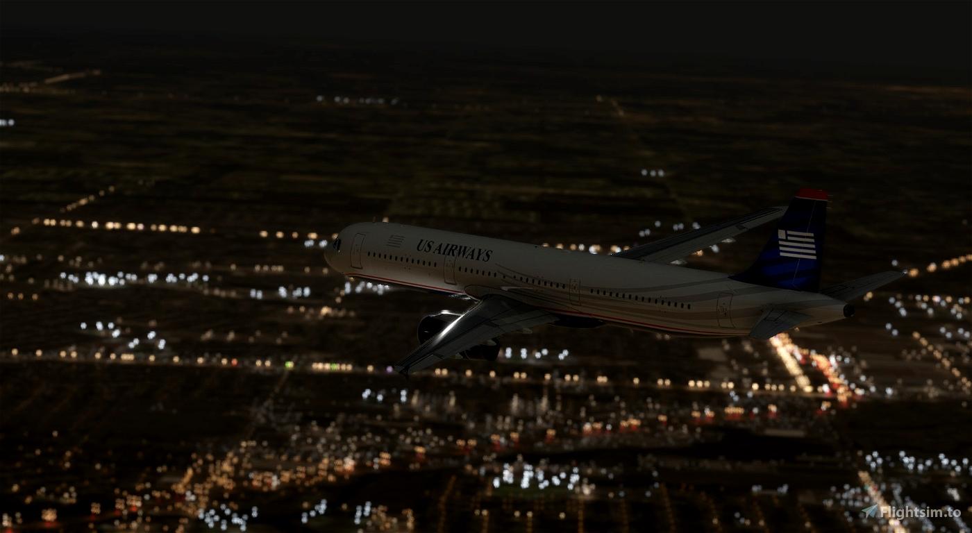 US Airways A321 [4K]