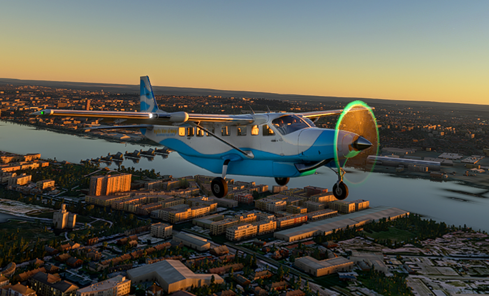 Mystic Blue Airways Flight Simulator 2020