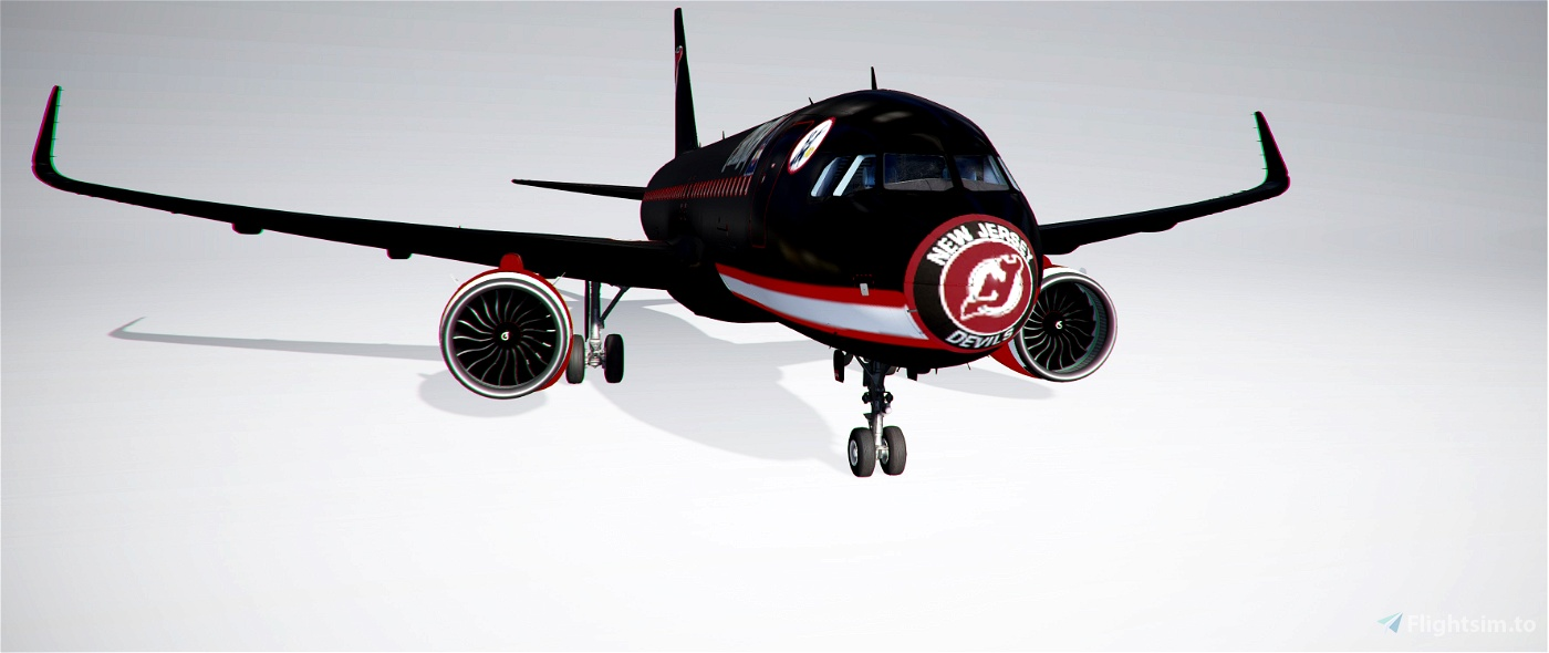 A320Neo New Jersey Devils
