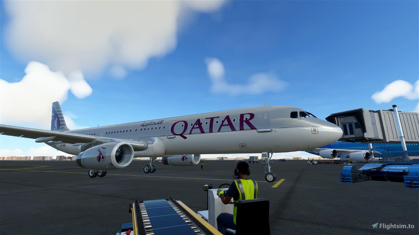 A321 Qatar Airways [8K/4K]
