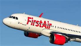 First Air A320 neo Image Flight Simulator 2020