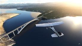 Krk Bridge (Krčki most) Image Flight Simulator 2020