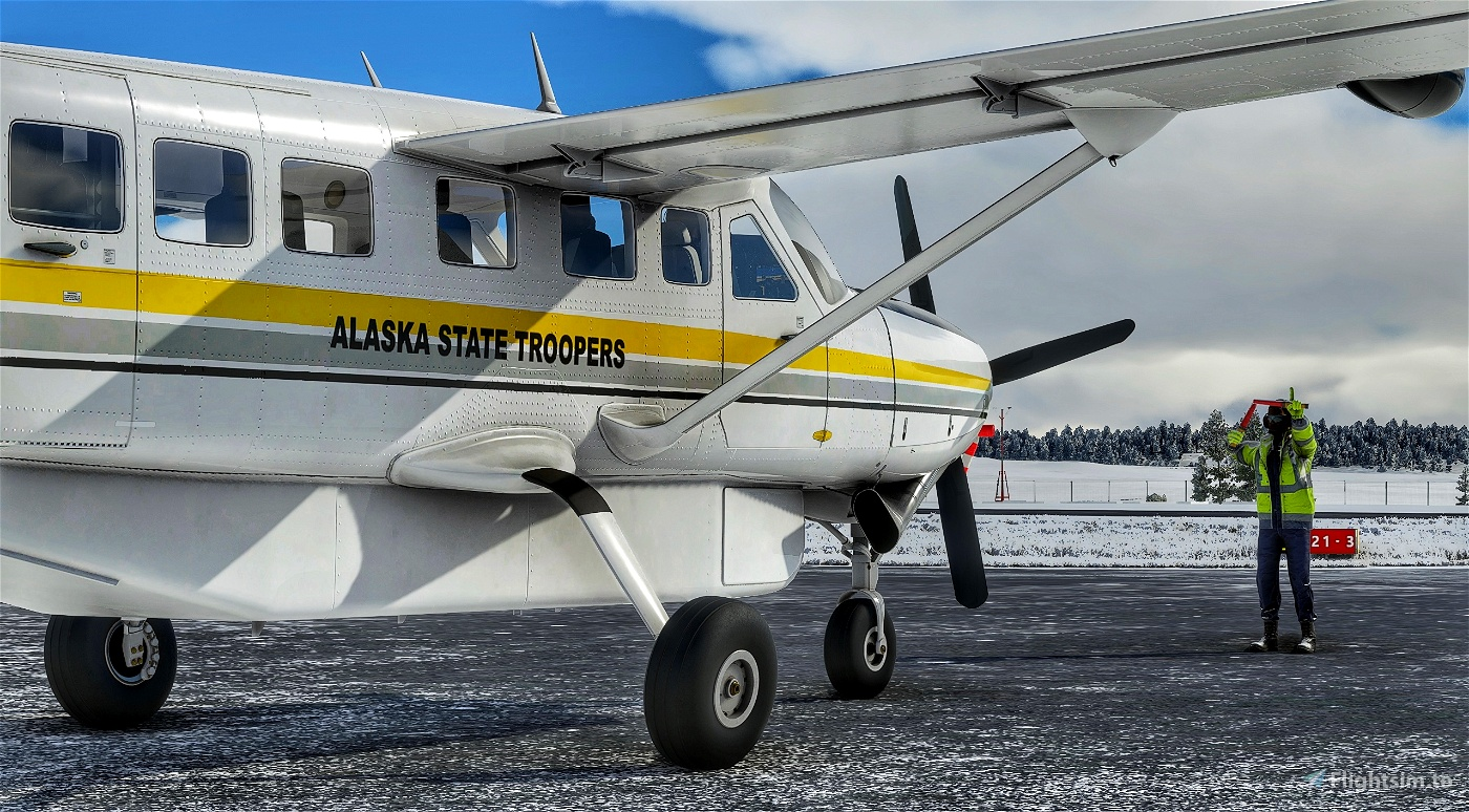 Cessna 208B Grand Caravan Alaska State Troopers Flight Simulator 2020