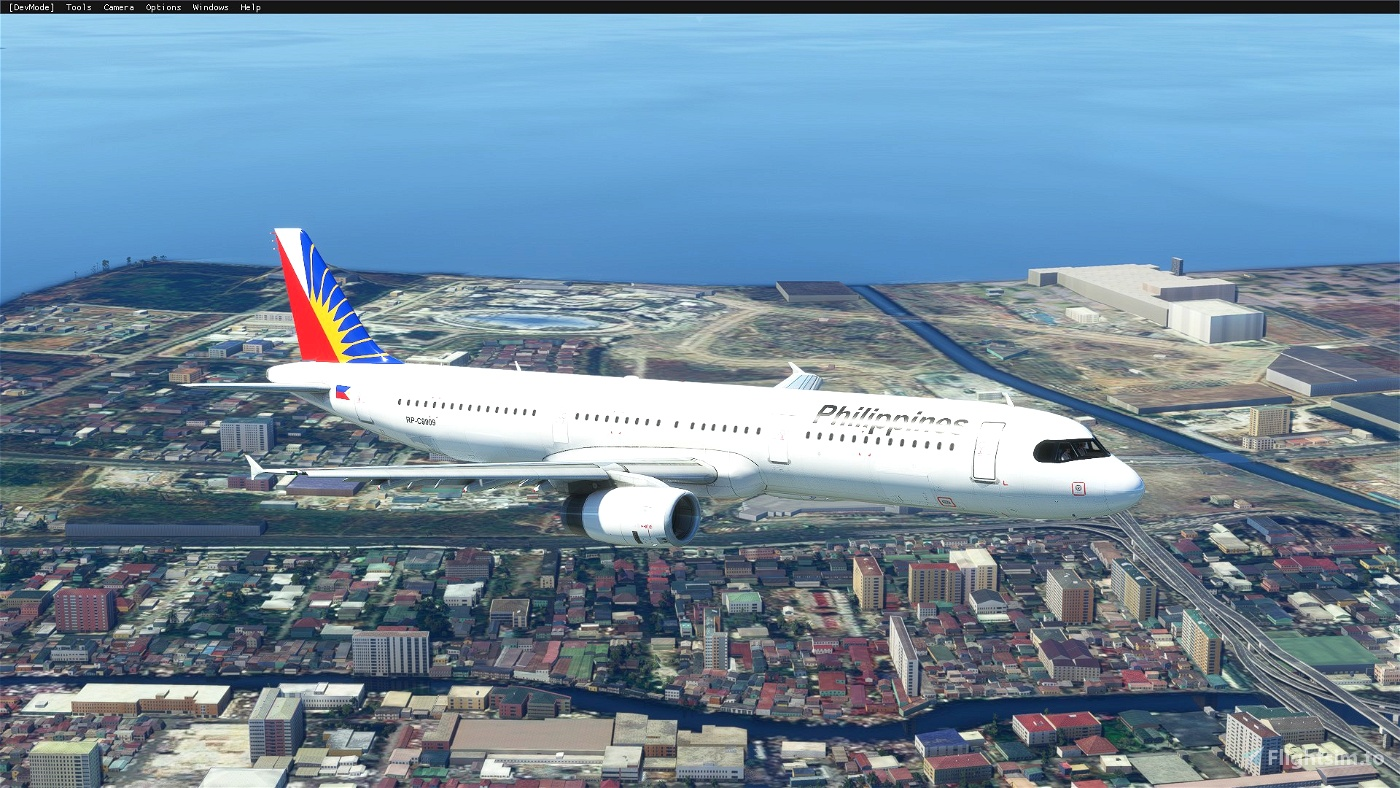 AMP A321 Philippine Airlines (8K)