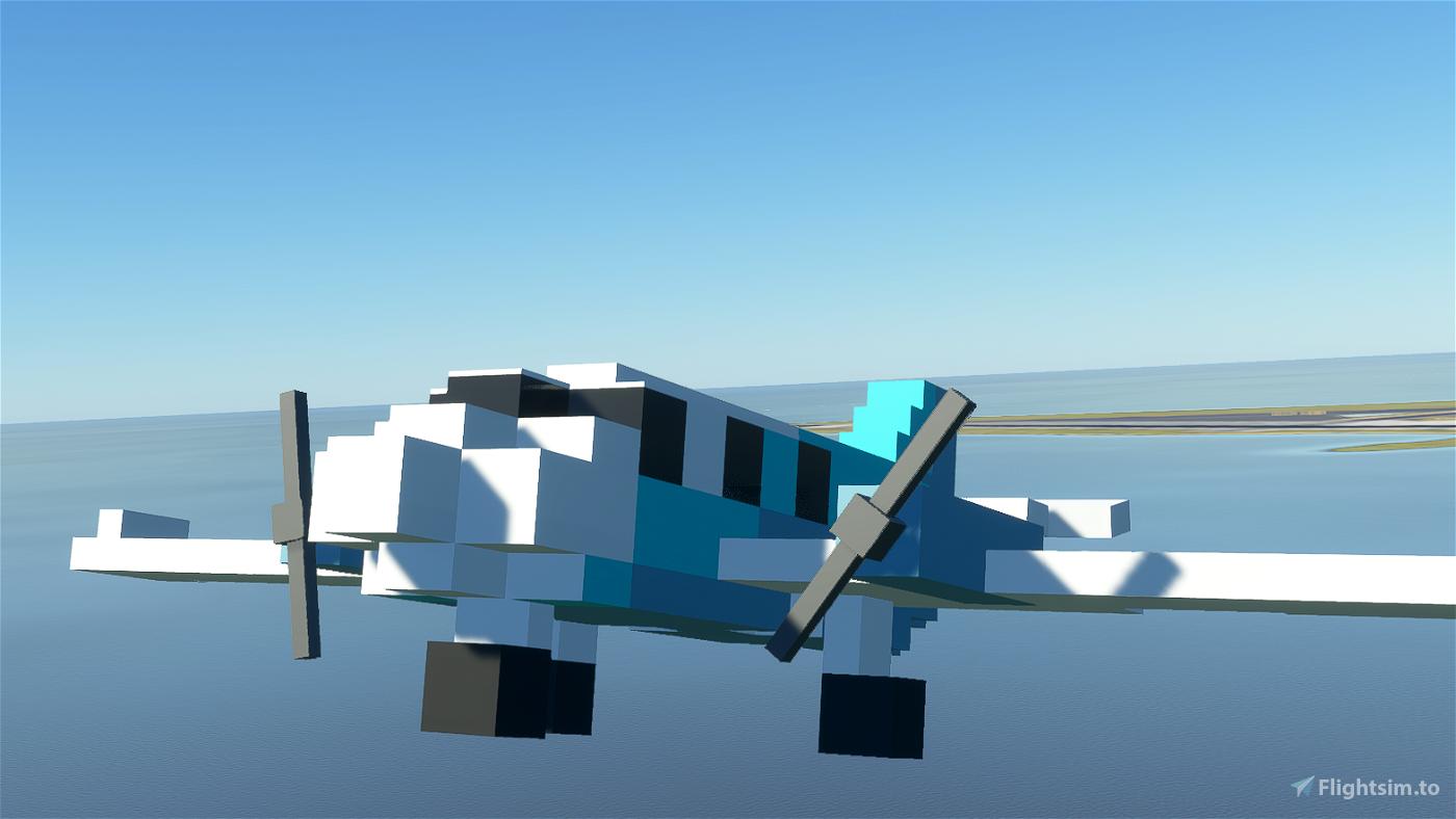 FlyByVoxel MC-16 Microsoft Flight Simulator