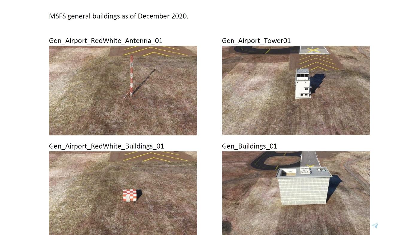 General Buildings Previews Flight Simulator 2020