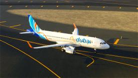 FlyDubai A320Neo Image Flight Simulator 2020