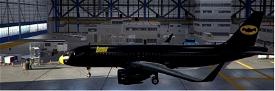 A320neo Batman Livery Image Flight Simulator 2020