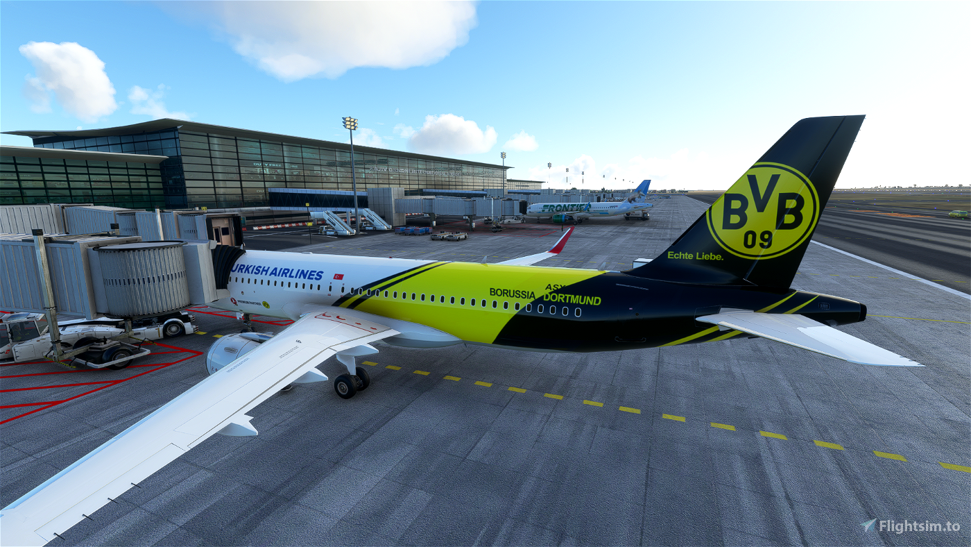 Turkish Airlines Borussia Dortmund Livery
