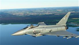 German Airforce Basepack for EUROFIGHTER (BREDOK3D) Image Flight Simulator 2020