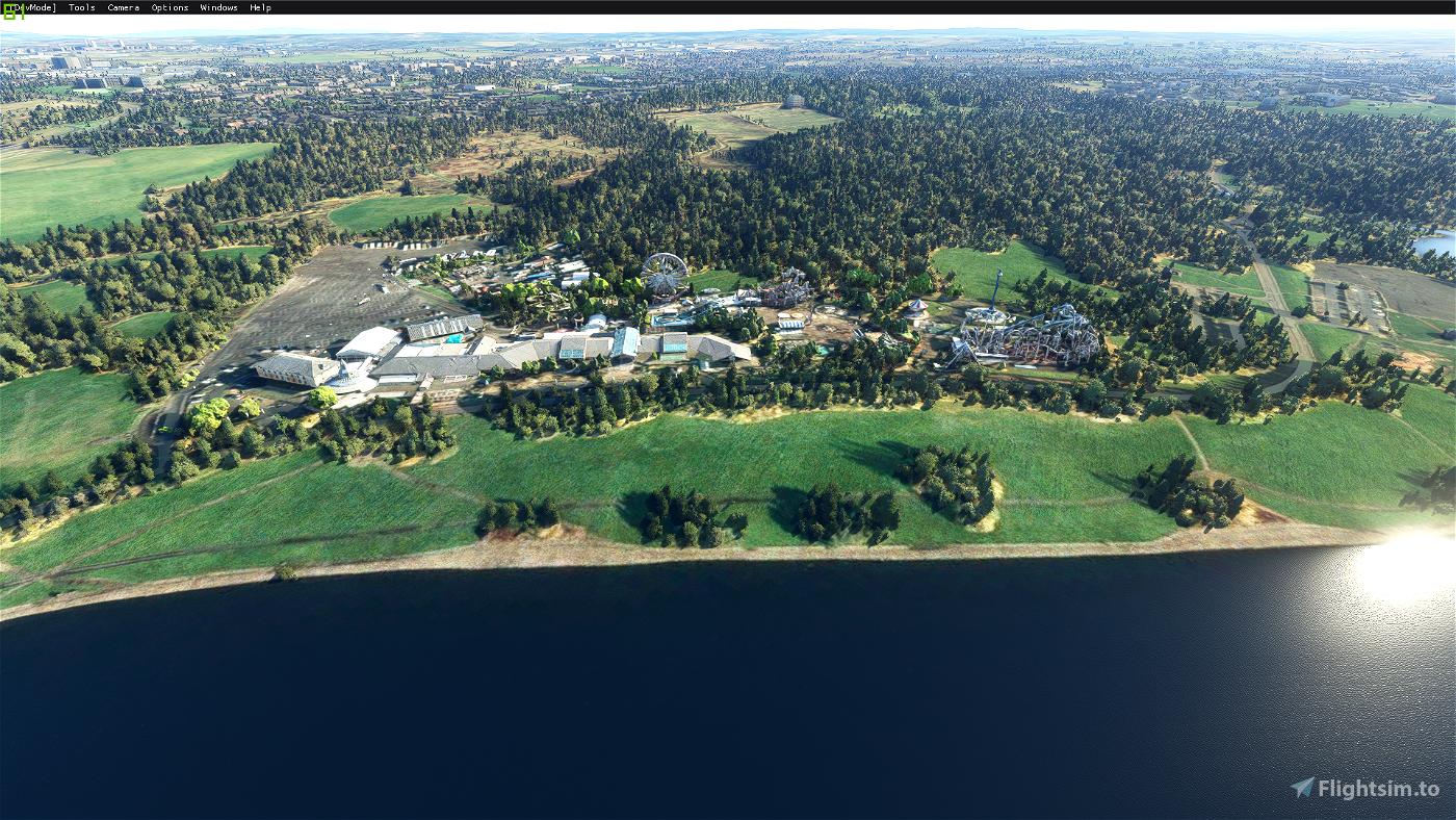 Strathclyde Country Park, North Lanarkshire, Scotland Flight Simulator 2020