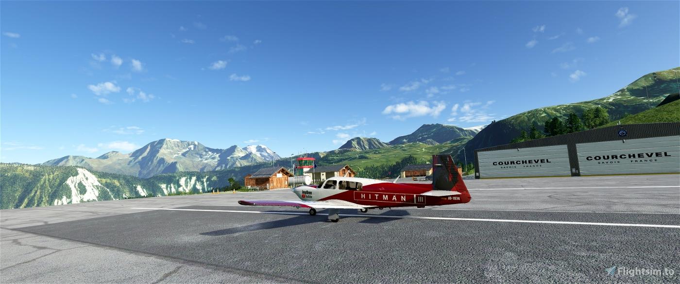 JD Clean Glass Mod for Carenado Mooney Ovation Flight Simulator 2020