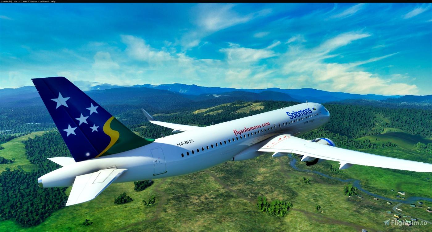 [8K] Solomon Airlines