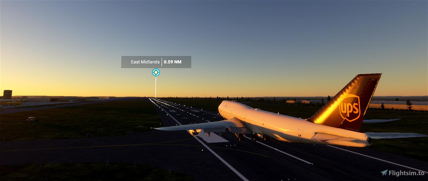 East Midlands Airport - EGNX  Flight Simulator 2020