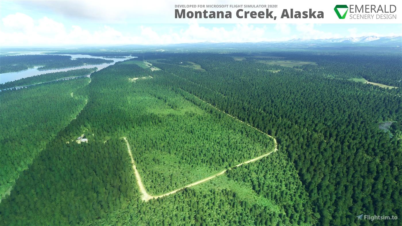 Montana Creek, Alaska (21AK)