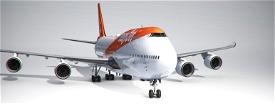 easyJet 747-8I (4K, Right Side, Working) Image Flight Simulator 2020