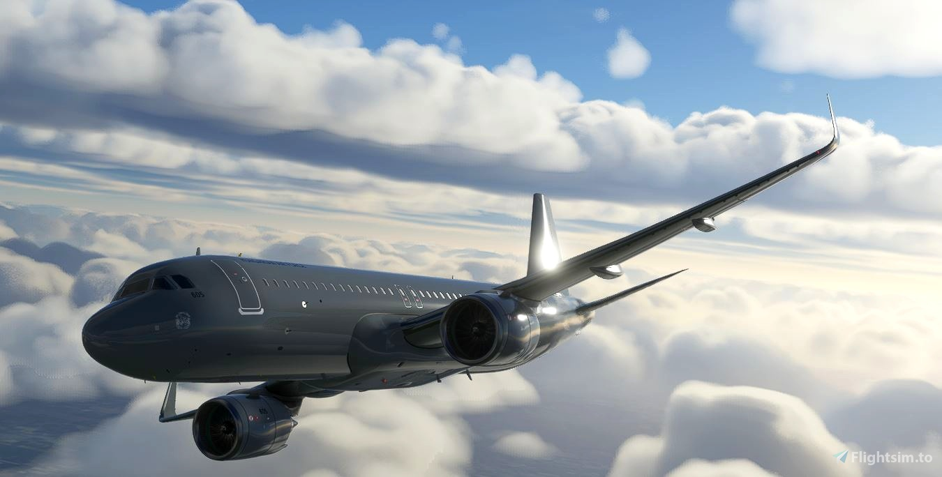 Hungarian Air Force 604 & 605 Airbus a320neo  Flight Simulator 2020